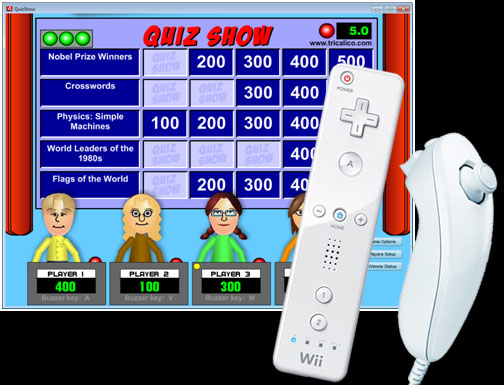 Quiz Show game screen